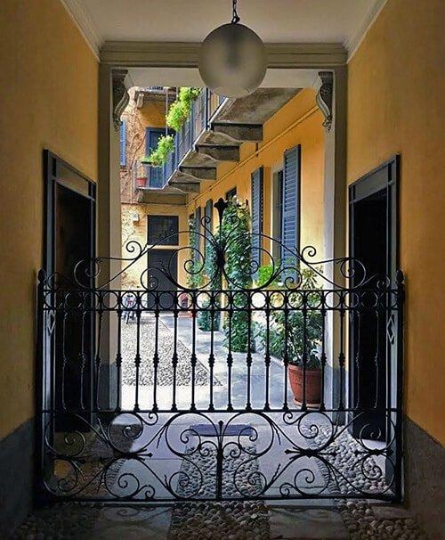 Androne Ingresso Studio Legale Lavizzari Milano