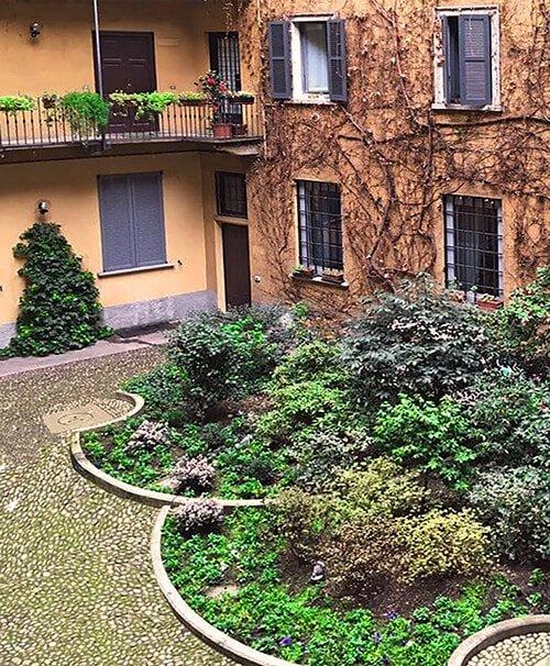 Cortile Interno Studio Legale Lavizzari Avvocati Milano