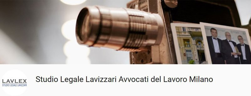 Canale YouTube Studio Legale Lavizzari