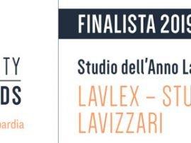 Lavlex finalista Studio dell anno labour Legalcommunity Awards