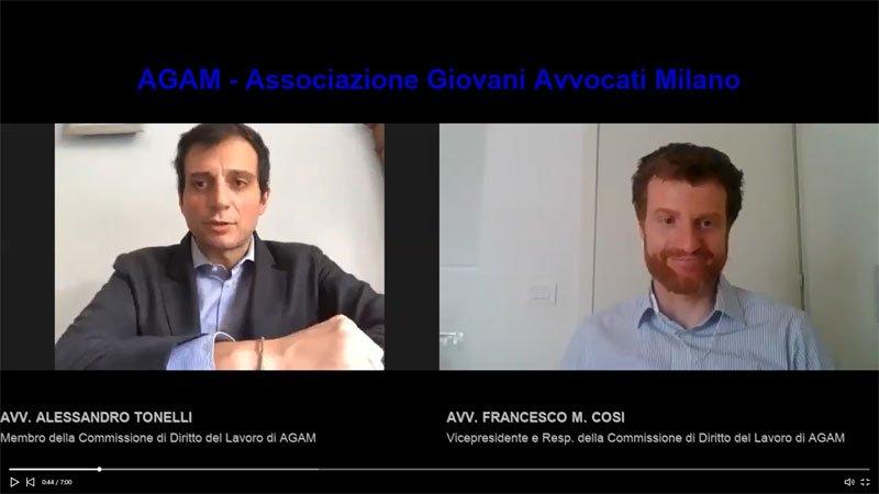 Alessandro Tonelli intervista AGAM Covid19