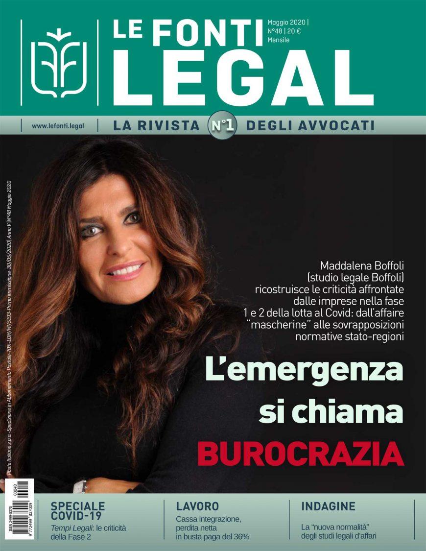 Le Fonti Legal Maggio 2020