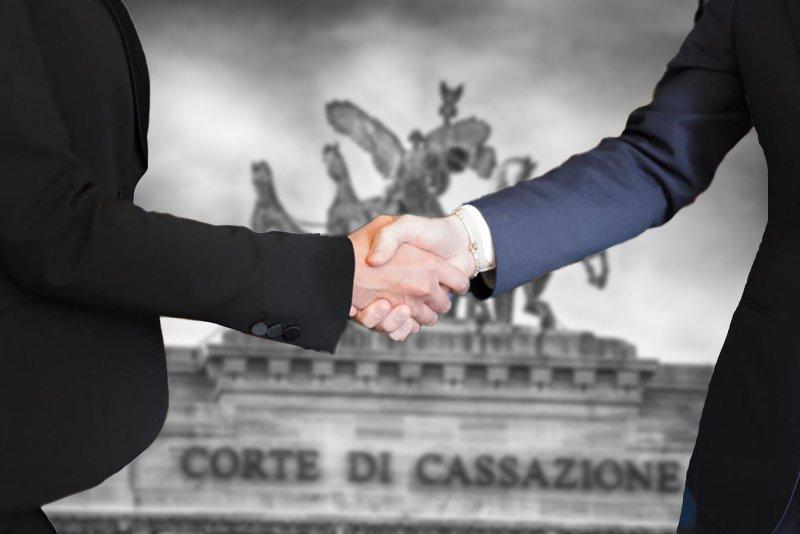 sentenza cassazione transazione novativa